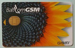 LATVIA - GSM Demo - BaltCom - Sunflower - Fixed Chip - Lettland