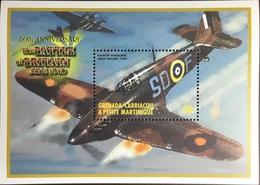 Grenada Grenadines 2000 Battle Of Britain Aviation Aircraft Minisheet MNH - Grenada (1974-...)