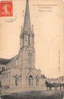LA CHAPELLE BASSE MER    EGLISE   DUGAST EDITEUR - La Chapelle Basse-Mer