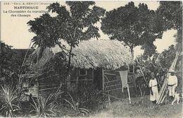 MARTINIQUE - LA CHAUMIERE DU TRAVAILLEUR DES CHAMPS - Couple - Chien - Martinique