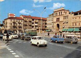 """8746""""MONCALIERI-PIAZZA CADUTI PER LA LIBERTA' E L'INDIPENDENZA""""PUBBL.COCACOLA-AUTOBUS-AUTO '60-CART. POST. ORIG. SPED.71 - Moncalieri"""