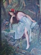 CPA Non écrite - ALEX ZICK L'ondine - La Nymphe - Paintings