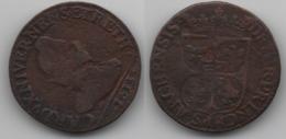 + FRANCE    + DOUBLE LIARD 1613 +  CHAMPAGNE - COMTE DE RETHEL   + - 987-1789 Royal