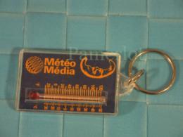 Porte Clefs - Météo Media - Information Télévisée - Thermomètre - Sleutelhangers