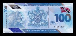 Trinidad & Tobago 100 Dollars 2019 (2020) Pick New Polymer SC UNC - Trinidad En Tobago