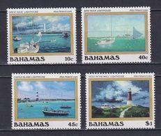 BAHAMAS 1987, Mi# 640-643, CV €20, Ships, MH - Bahamas (1973-...)