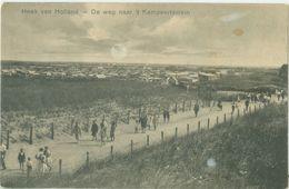 Hoek Van Holland 1934; De Weg Naar 't Kampeerterrein - Gelopen. (Roukes & Erhart - Baarn) - Hoek Van Holland