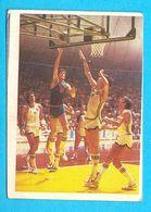 JERKOV V DINO MENEGHIN - Yugoslav Vintage Basketball Card * Pallacanestro Varese Olimpia Milano Basket-ball Italy Italia - Singles (Semplici)