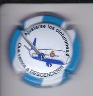 PLACA DE CAVA DE FUTBOL DE EL ESPAÑOL (CAPSULE) VAMOS A DESCENDER - Mousseux