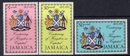 Jamaica 1972 Centenary Of Kingston As Capital Set Of 3, MNH, SG 362/4 (WI2) - Jamaïque (...-1961)