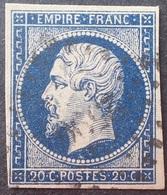 DF40266/2088 - NAPOLEON III N°14Aa Bleu Foncé - PC 2590 : LE PUY EN VELAY  (Haute Loire) - 1853-1860 Napoléon III