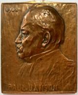 Médaille Bronze. Paul Janson. 1908. P. Braecke - Professionnels / De Société