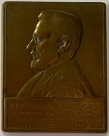 Médaille Bronze. Fernand Vlemincx Avocat à La Cour D'Appel Ses Confrères Et Amis. 1876-1926.  A. Bonnetain - Professionnels / De Société