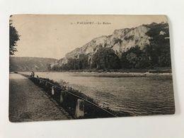 Carte Postale Ancienne (1924) WAULSORT Les Rochers - Hastière