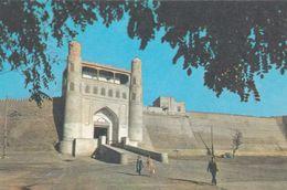 Uzbekistan -  Bukhara - The Ark Of Bukhara Fortress Entrance - Printed 1975 - Usbekistan