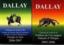 Catalogue Dallay Europe Et Asie2006/07+catalogue Dallay Afrique 2005-2006.Etat Neuf - France