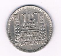 10 FRANC 1947  B FRANKRIJK /5882/ - France