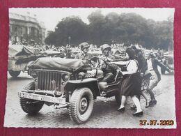 """CPM GF - Lot De 4 CPM """"Libération De Paris"""" - Guerra 1939-45"""