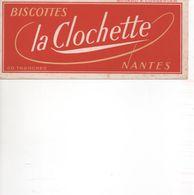 BUVARD  BISCOTTES LA CLOCHETTE à Nantes - Biscottes