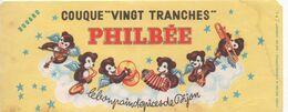 BUVARD  PHILBEE-couque Vingt Tranches-le Bon Pain D'épices De DIJON - Caramelle & Dolci
