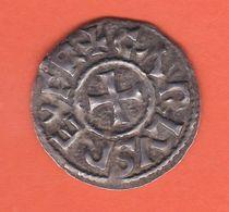 (CC-74) DENIER DE MELLE DE CHARLES LE CHAUVE (840-864) SUP - 751-987 Carolingians