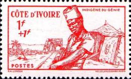 Côte D'Ivoire Poste N** (Yv:162/164 Yv:5,4 Euro) Défense De L'Empire - Côte-d'Ivoire (1892-1944)