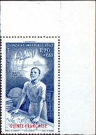 Guinée Avion N** Yv: 9 Mi:189 Quinzaine Impériale Vocation Coin De Feuille - Neufs