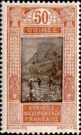 Guinée Poste N* Yv: 93 Mi:93 Passage De Gué Kitim (Trace De Charnière) - Neufs