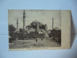 CONSTANTINOPLE TURQUIE AUJOURD'HUI ISTANBUL LA MOSQUEE STE SOPHIE CPA 1415 EDITEUR MAX FRUCHTERMANN PHOTO SEBAH & JOAILL - Türkei