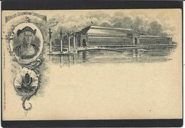 CPA Amérique Illinois Chicago Exposition Columbian 1893 Chritophe Colomb Voir Scan Du Dos - Chicago