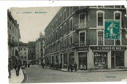 CPA- Carte Postale -France-Annecy-Rue Grenette 1919- VM19551 - Annecy