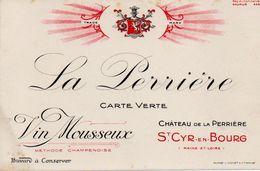 La Pérrière Vin Mousseux Saint Cyr En Bourg - V