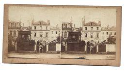 PARIS LE PETIT MOULIN ROUGE PHOTO STEREO CIRCA 1860 /FREE SHIPPING R - Stereoscopio