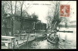 80 - T2652CPA - AMIENS - L'ile Robinson (restauration) - Parfait état - SOMME - Amiens