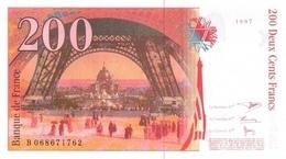 FRANCE P. 159b 200 F 1997 UNC - 1992-2000 Ultima Gama