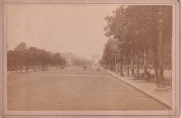 PHOTO CARTONNEE(PARIS) CHAMPS ELYSEES - Orte