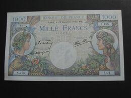1000 Francs  - Commerce Et Industrie - 28 Novembre 1940  **** EN ACHAT IMMEDIAT **** - 1871-1952 Antiguos Francos Circulantes En El XX Siglo