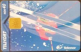 Telefonkarte Norwegen - Wintersport  - N-196  12/00 - Norway