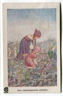 CPA  Illustrateur : MILLER Hilda  Les Champignons Animés Paris  VOIR DESCRIPTIF  §§§ - Illustrateurs & Photographes