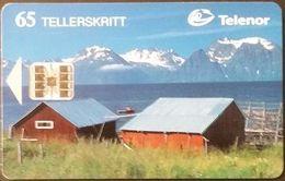 Telefonkarte Norwegen - Landschaft - Lyngen , Troms  - N-69  4/96 - Norway