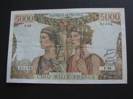 5000 Francs - Terre Et Mer  1-2-1951  **** EN ACHAT IMMEDIAT **** - 1871-1952 Frühe Francs Des 20. Jh.