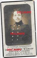 Oorlog Guerre Oscar Warlop Menen Soldaat Gesneuveld Te Corbeek Lo 18 Aug 1914 Korbeek Lo Leuven - Devotion Images