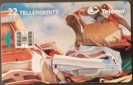Telefonkarte Norwegen - Kunst  - N-62  1/96 - Norway