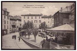 FREJUS La Place Du Marché - Frejus
