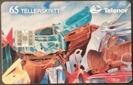 Telefonkarte Norwegen - Kunst  - N-61  1/96 - Norway