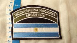 Argentine Gendarmerie Flag Drapeau Patch Ecusson #15 - Ecussons Tissu