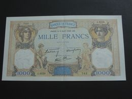 1000 Francs - Cérès Et Mercure  11 Avril 1940  **** EN ACHAT IMMEDIAT **** - 1871-1952 Antichi Franchi Circolanti Nel XX Secolo