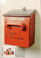PORTUGAL MAXIMUM CARD MAXICARD THEMATIC - LETTER-BOX OF THE FIRST DOMICILIARY DELIVERY  1821 - Cartoline Maximum