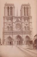 PHOTO CARTONNEE(PARIS) NOTRE DAME - Orte