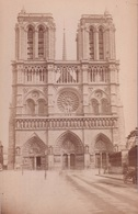 PHOTO CARTONNEE(PARIS) NOTRE DAME - Lugares